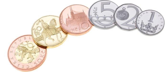 Monedas coronas checas