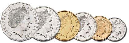 Monedas de australia 2020