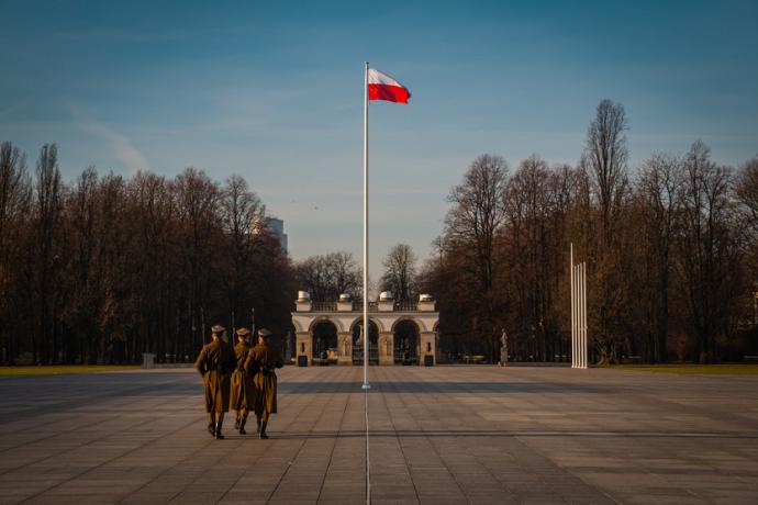 Polonia bandera de Polonia zloty polaco