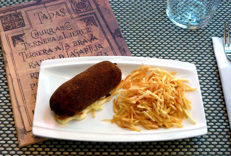 Flamenquines cordobeses (Restaurante El Churrasco)