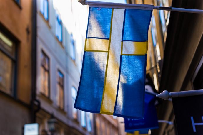 Bandera de Suecia Corona sueca (Jonathan Brinkhorst Unsplash)