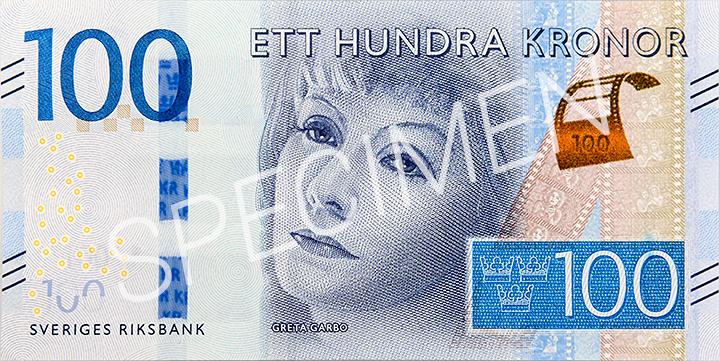 Billete de 100 coronas suecas