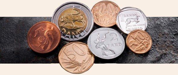 Monedas de rand