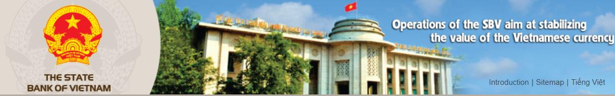 Página web de Banco Estatal de Vetnam