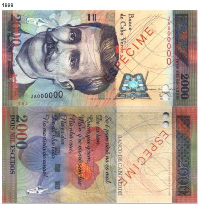 Billete de 2000 escudos caboverdianos
