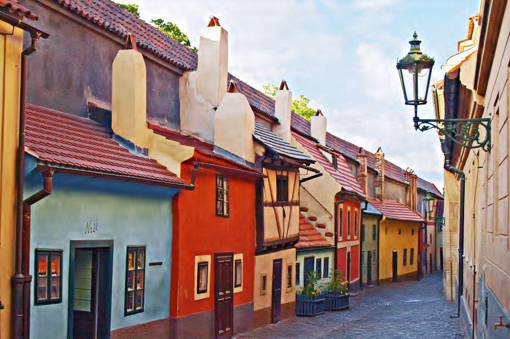 Callejón del oro en Praga