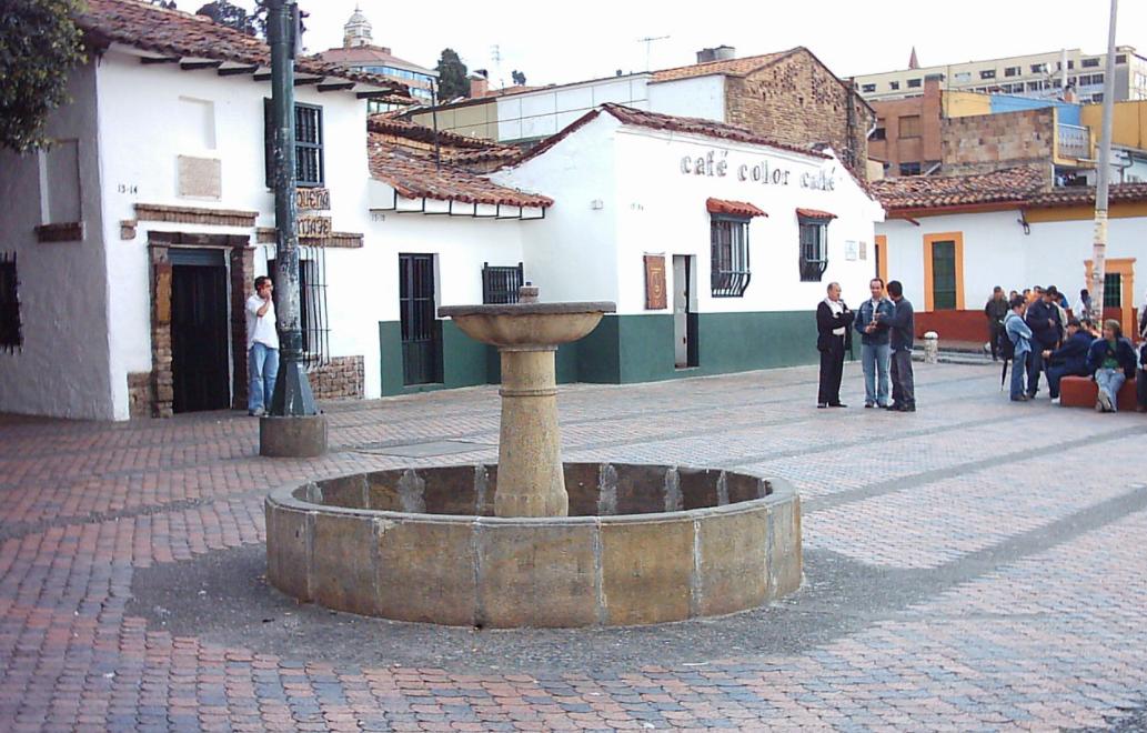Chorro de Quevedo Bogotá