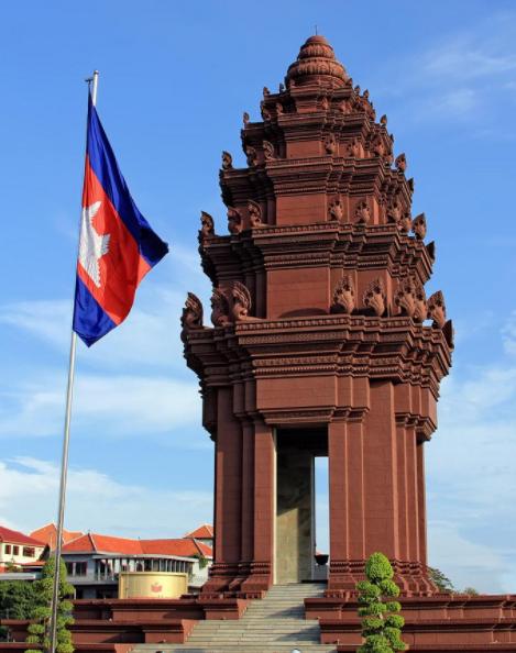 Monumento a la Independencia Nom Pen
