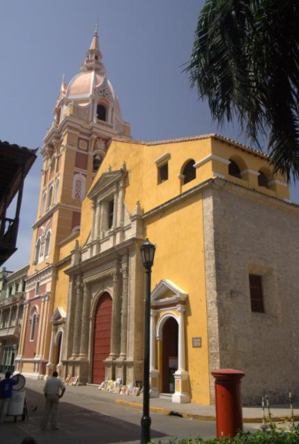 Catedral de Santa Catalina de Alejandría Cartagena de Indias