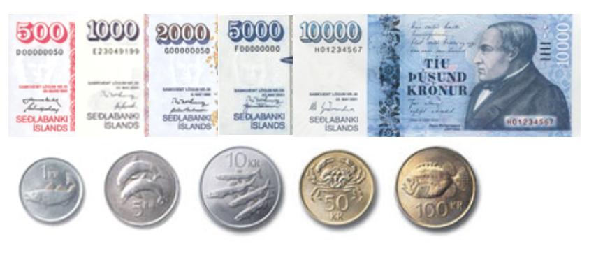 Moneda de Islandia