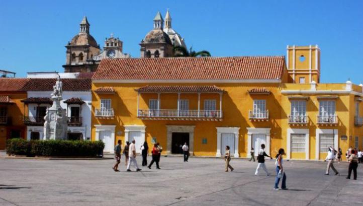 Plaza de la Aduana Cartagena de Indias