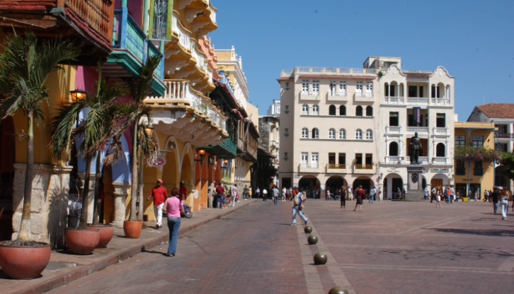 Plaza de los Coches Cartagena de Indias Colombia