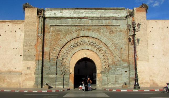 Puerta de Bab Aganou Marrakech