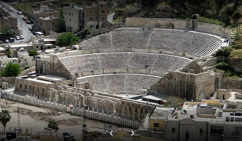 Teatro romano de Amman (foto Ahmad Al-Ramahi)