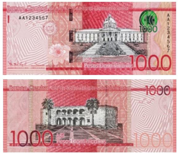 Billete de 1000 pesos dominicanos