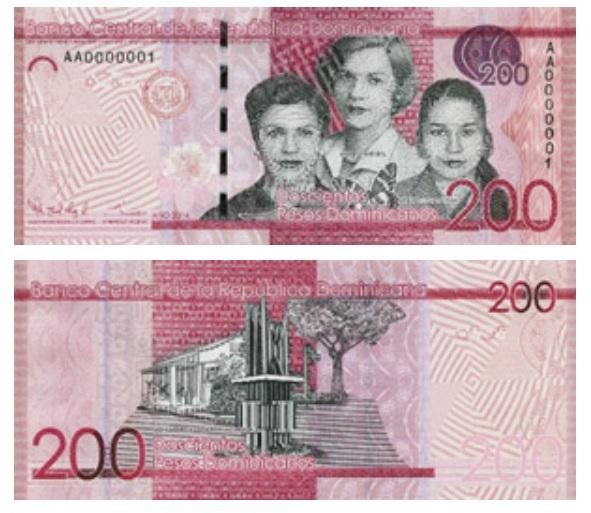 Billete de 200 pesos dominicanos
