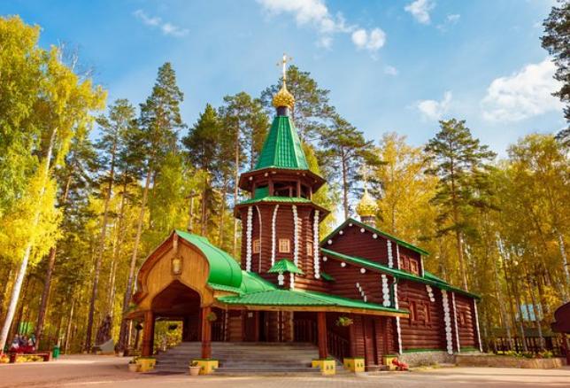 Monasterio de Ganina Yama Ekaterimburgo