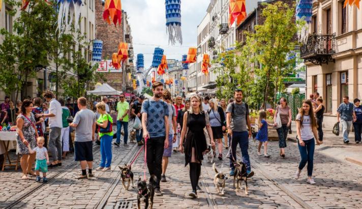 Barrio de Praga Varsovia