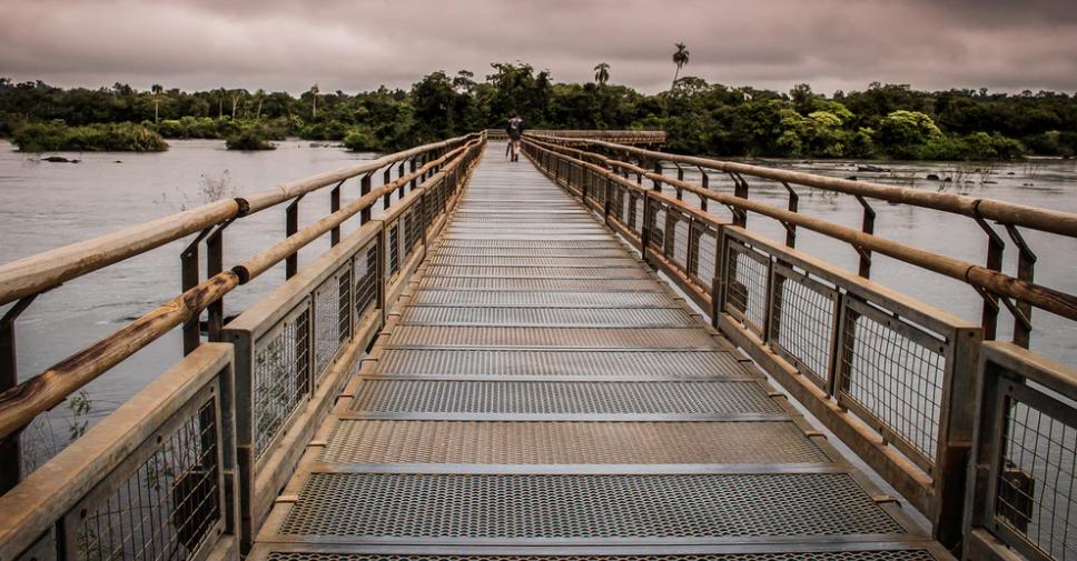 Pasarela Garganta del Diablo Iguazú
