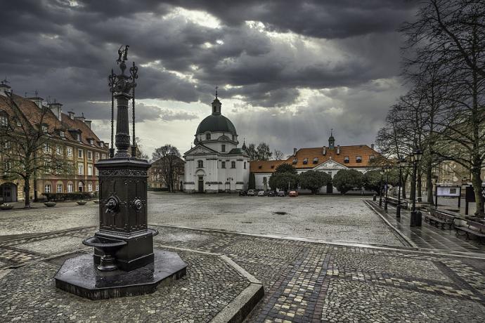 Rynek Nowego Miasta Varsovia Polonia