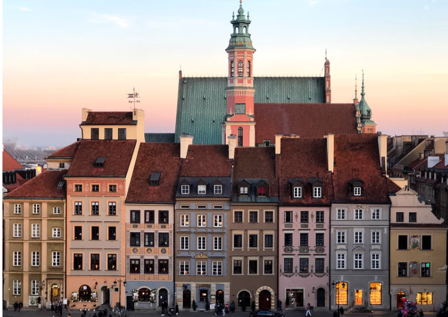 Stare Miasto Varsovia Polonia