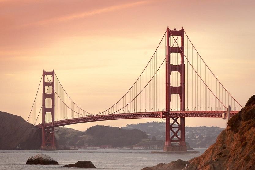 puente rojo San Francisco