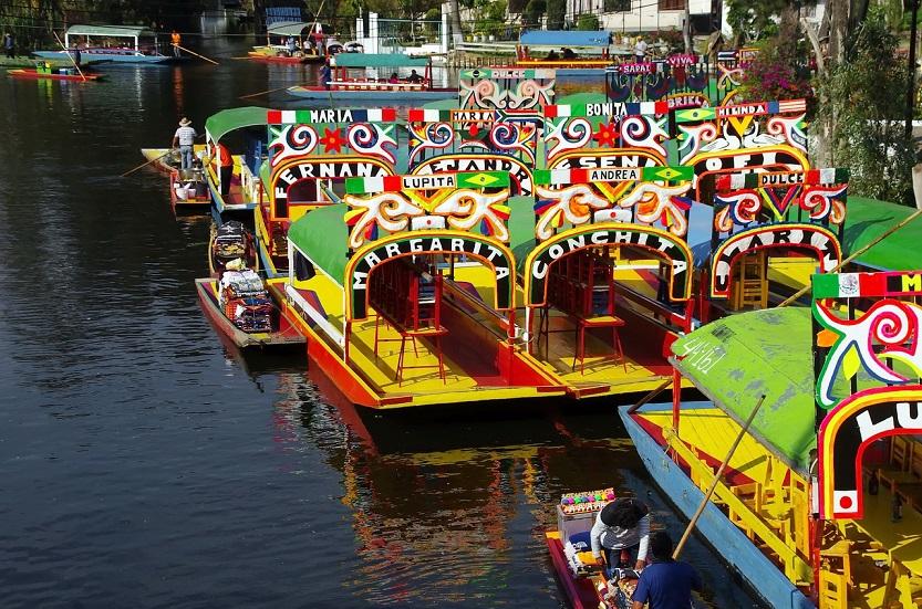 canales xochimilco