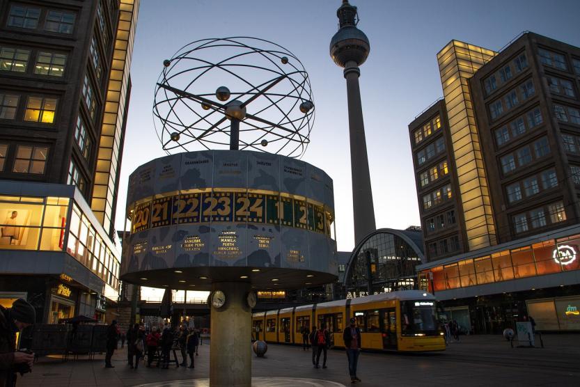 Alexanderplatz Berlín