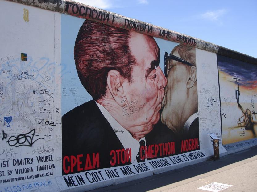 Breznev Honecker Berlín