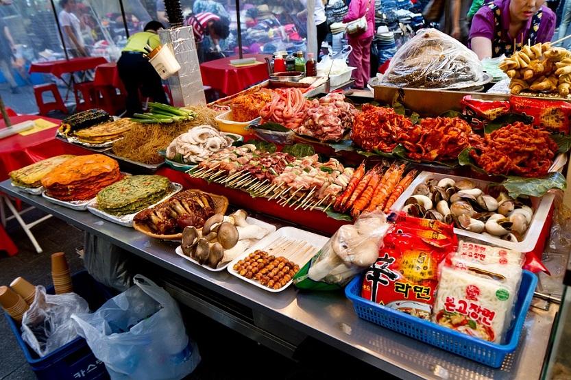 gastronomía corea del sur