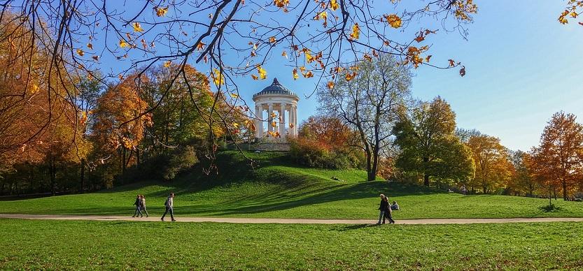 Jardín Inglés, parque de Munich