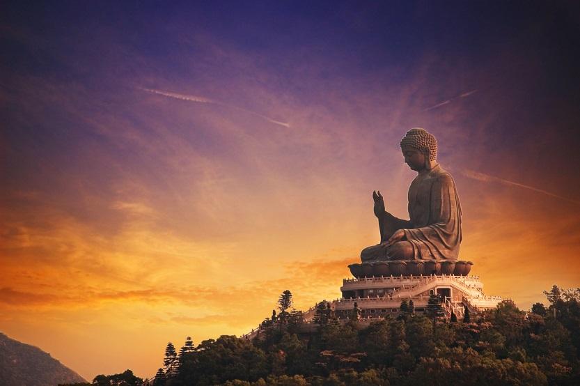 Buda de Tian Tan en la isla de Lantau