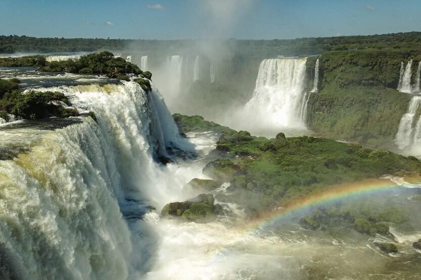 Cataraas de Iguazú una de las mejores cosas que ver en Brasil
