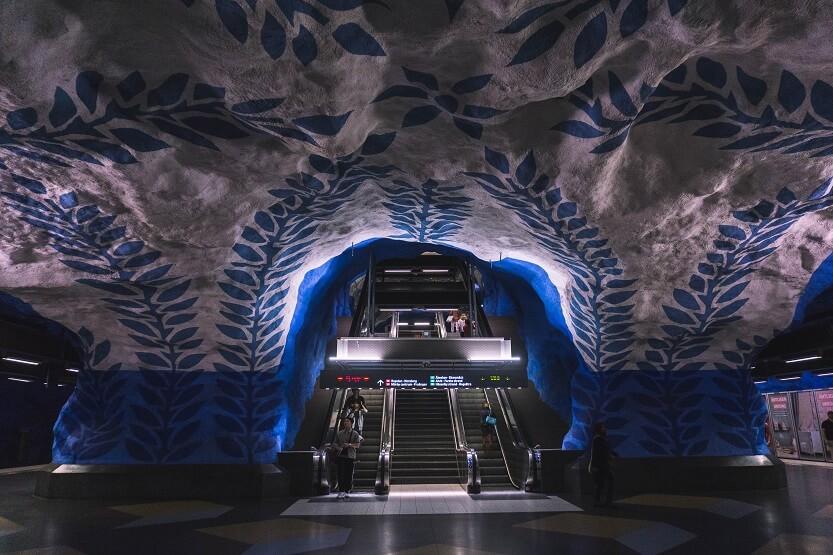 Muestras del arte en Suecia públicas